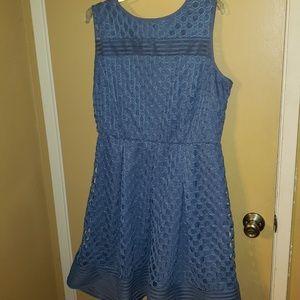 Lane Bryant size 16 periwinkle blue dress